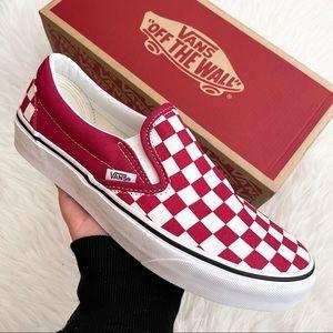 Vans Checkerboard Slip-On Women's Sneakers